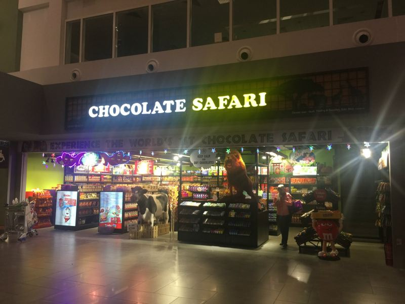 Chocolate Safari Concept Store / Premium Outlet Kuala Lumpur (KL), Malaysia, Selangor Design, Service | Thinkers Strategy Sdn Bhd