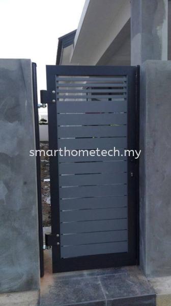 Fully Aluminium Gate 100% Fully Aluminium Gate (Smartgate) Aluminium Gate Melaka, Malaysia Supplier, Supply, Supplies, Installation | SmartHome Technology Solution