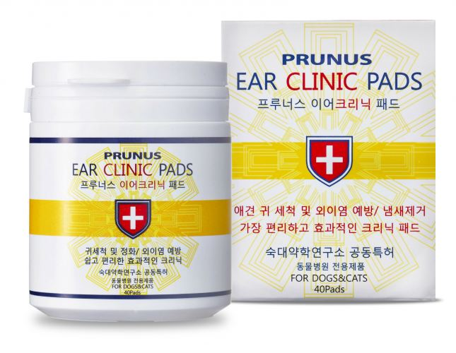 EAR CLINIC PADS (40 sheets)