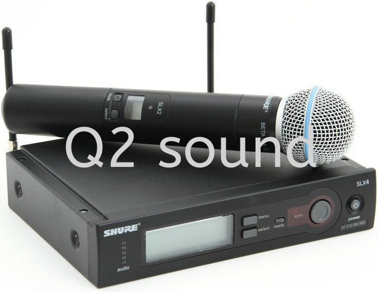 Shure SLX24 Beta 58A Accessories Selangor, Malaysia, Kuala Lumpur (KL), Klang Supplier, Supply, Installation, Services | Q Two Sound & Light