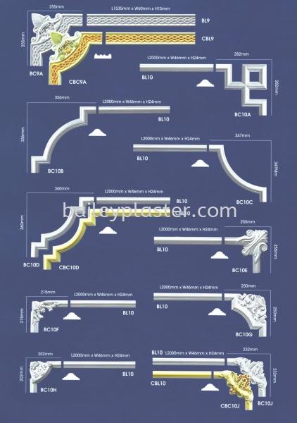 Corners / Beadings Malaysia, Selangor, Kuala Lumpur, KL. Supply, Supplier, Manufacturer, Exporter | Bailey Plaster Sdn Bhd