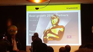 2017 TURCK ISM - Regaltech Top Growth Partner 2016-2