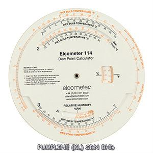 Elcometer 114 Dewpoint Calculator Climate Monitoring System Inspection Equipment (Elcometer) Selangor, Malaysia, Kuala Lumpur (KL), Petaling Jaya (PJ) Supplier, Suppliers, Supply, Supplies | Pumpline (KL) Sdn Bhd