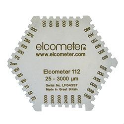 Elcometer 112AL Punched Aluminium Wet Film Combs Wet Film and Powder Coating Inspection Equipment (Elcometer) Selangor, Malaysia, Kuala Lumpur (KL), Petaling Jaya (PJ) Supplier, Suppliers, Supply, Supplies | Pumpline (KL) Sdn Bhd