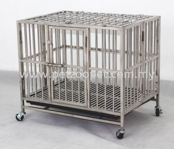 9311 Stainless Steel Dog Cage Pet Cage Malaysia, Selangor, Kuala Lumpur (KL), Shah Alam Supplier, Wholesaler, Exporter, Supply   Starcage Pet Products Sdn Bhd