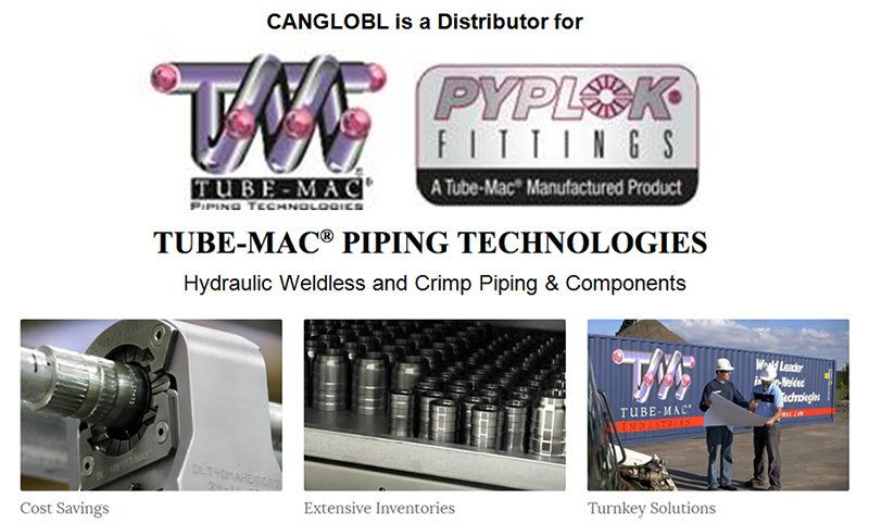 Hydraulic Weldless and Crimp Piping & Components Tube-Mac Piping Technologies Selangor, Malaysia, Kuala Lumpur (KL) Manufacturer, Supplier, Service, Laboratory Testing, Filtration | Canglobal Fluid Power Sdn Bhd