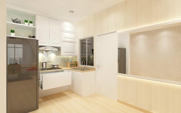 Kitchen 3D Design Johor Bahru (JB), Malaysia Design | LV Construction Design Sdn Bhd