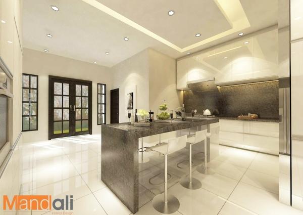 Kitchen Design Majidee Dato Kitchen Design Kitchen Design Johor Bahru, JB, Ulu Tiram Design   Mandali Concept Sdn Bhd