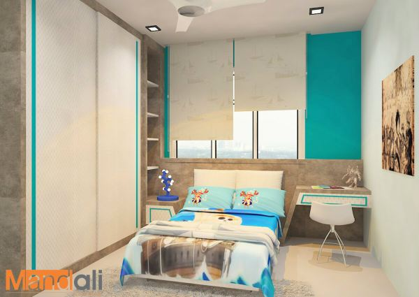 Bedroom Design Adda Height Children Bedroom Design Bedroom Design Johor Bahru, JB, Ulu Tiram Design | Mandali Concept Sdn Bhd