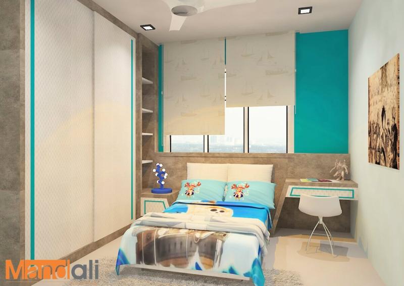 Bedroom Design Adda Height Children Bedroom Design Bedroom Design Johor Bahru, JB, Ulu Tiram Design | Mandali Concept Sdn Bhd
