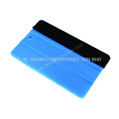 Plastic Squeegee with Felt