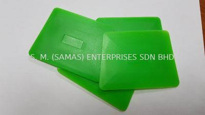 Plastic Green Squeegee