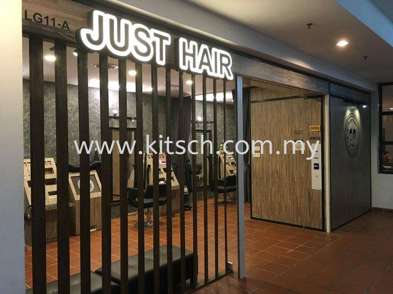Just Hair at Citta Mall Ara Damansara Commercial Interior Design Kuala Lumpur (KL), Selangor, Malaysia, Kepong Contractor, Designer, Service, Rental | Kitsch Interior Sdn Bhd