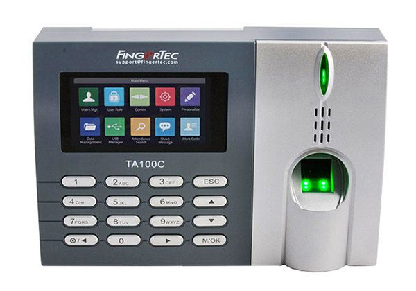 TA100C & TA100C-R Time Attendance Fingerprint Verification FingerTec Hardware Johor Bahru (JB), Malaysia Supplier, Supply, Supplies, Installation | NewVision Systems & Resources Sdn Bhd