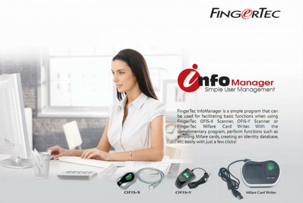 Info Manager Fingertec Software & SDK Johor Bahru (JB), Malaysia Supplier, Supply, Supplies, Installation | NewVision Systems & Resources Sdn Bhd