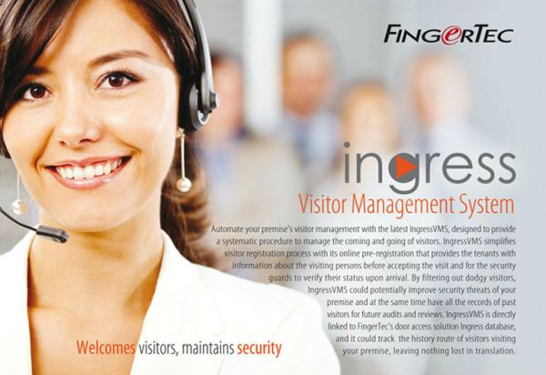Ingress VMS (OBSOLETE) Fingertec Software & SDK Johor Bahru (JB), Malaysia Supplier, Supply, Supplies, Installation | NewVision Systems & Resources Sdn Bhd