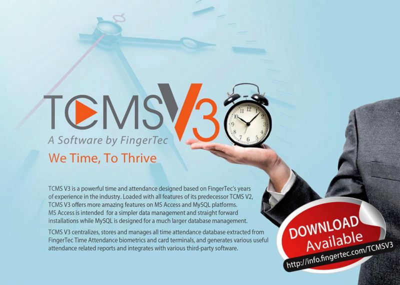 TCMS V3 Time Attendance Fingertec Software & SDK Johor Bahru (JB), Malaysia Supplier, Supply, Supplies, Installation | NewVision Systems & Resources Sdn Bhd