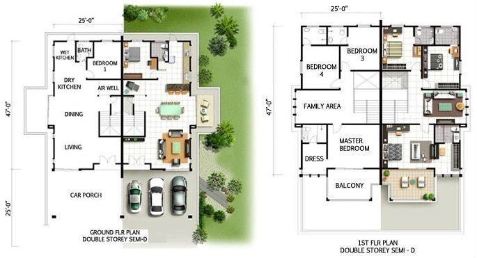 DOUBLE STOREY SEMI-D SEMI DETACHED RESIDENTIAL Kelantan, Malaysia Buy, Houses, For Sale | M One Country Development Sdn Bhd