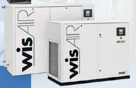Wisair Oil Free Screw Type Air Compressor Johor Bahru (JB), Malaysia Supplier, Rental, Services | JB COMPRESSOR SERVICES SDN BHD