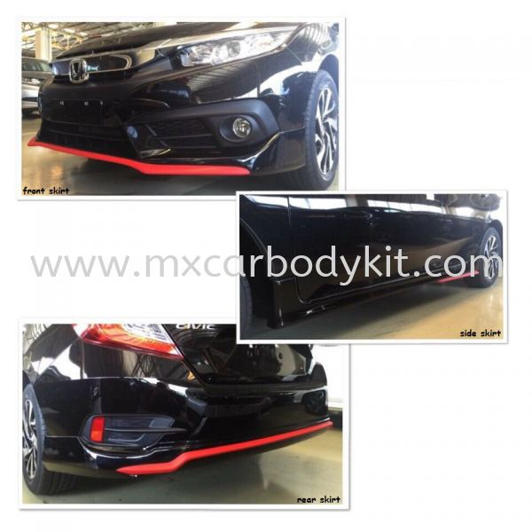 HONDA CIVIC 2016 RED LINE SPORT DESIGN BODYKIT CIVIC FC 2016 HONDA Johor, Malaysia, Johor Bahru (JB), Masai. Supplier, Suppliers, Supply, Supplies | MX Car Body Kit