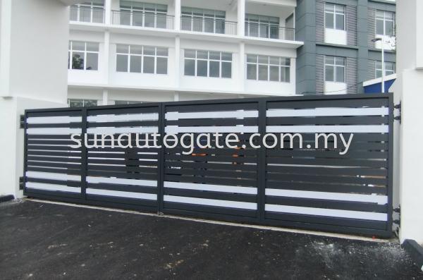 Aluminium Aluminium Penang, Malaysia, Bukit Mertajam, Simpang Ampat Autogate, Gate, Supplier, Services | Sun Autogate & Engineering