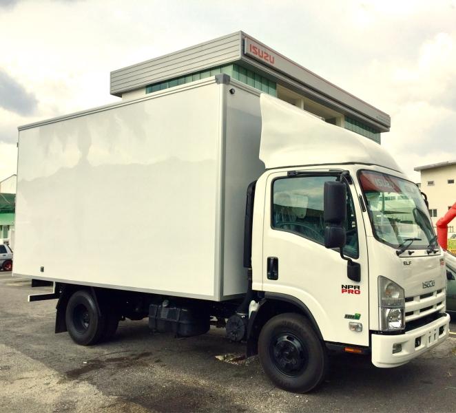 ISUZU 5000kg BDM BOX LORRY Isuzu Trucks Malaysia, Selangor, Kuala Lumpur (KL), Puchong for Sale, Dealer, Service | Motor Uniforce Sdn Bhd