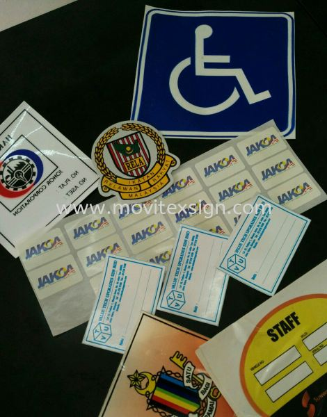 car lable sticker products , Logo reflaxtive sticker safety sign Industry Safety Sign and Symbols Image Johor Bahru (JB), Johor, Malaysia. Design, Supplier, Manufacturers, Suppliers | M-Movitexsign Advertising Art & Print Sdn Bhd