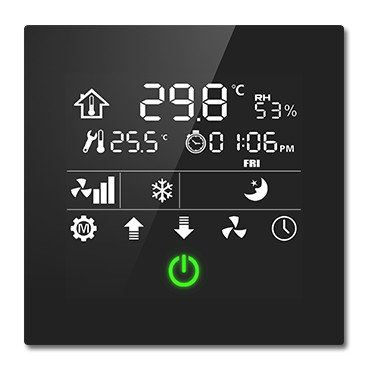 Thermostatic Panel (CHTC-86/01.1.11) Smart Home / Building Modules Johor Bahru (JB), Malaysia, China System, Service | Shield Technologies Product Sdn Bhd