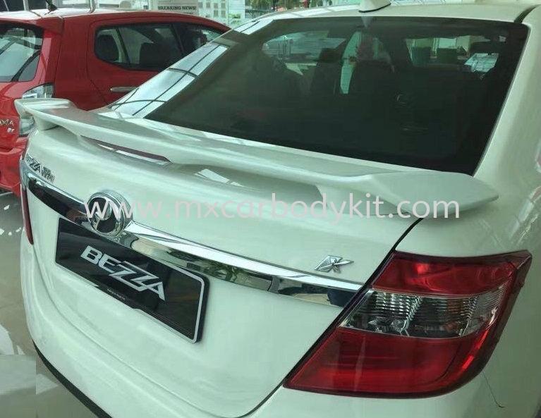 PERODUA BEZZA TRD SPOILER WITH LED BEZZA  PERODUA Johor, Malaysia, Johor Bahru (JB), Masai. Supplier, Suppliers, Supply, Supplies | MX Car Body Kit