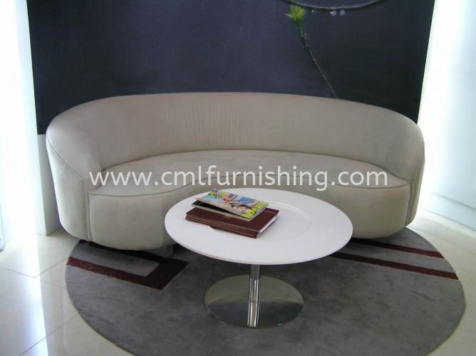 Custom Made Curve sofa 1