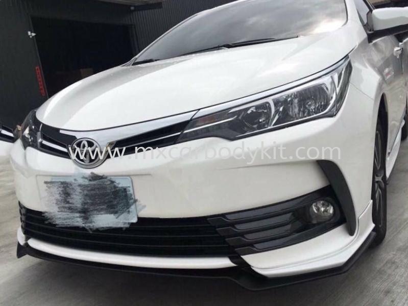 TOYOTA ALTIS 2017 RF BODYKIT + SPOILER ALTIS 2017 TOYOTA Johor, Malaysia, Johor Bahru (JB), Masai. Supplier, Suppliers, Supply, Supplies | MX Car Body Kit