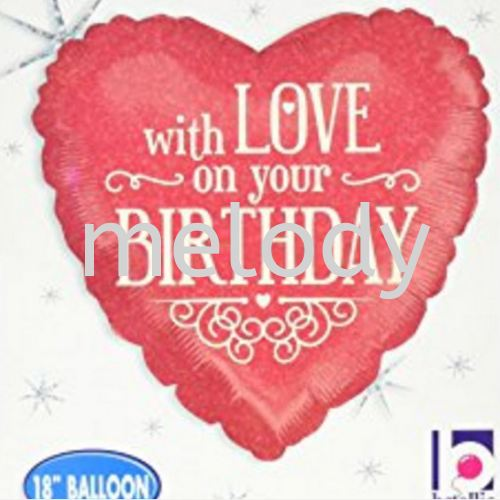 """Foil 18"""" Anagram HB with love"""