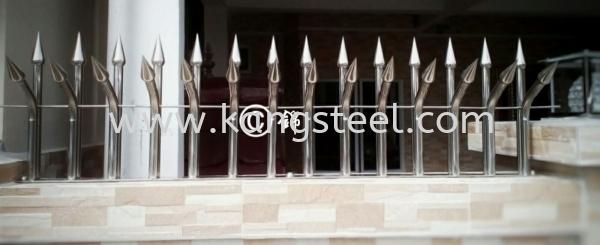 FT004 Fencing Thorn Johor Bahru, JB, Skudai Design, Installation, Supply   Kang Steel Engineering Sdn Bhd