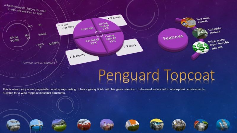 Penguard Topcoat Topcoat Protective Coating Ampang, Selangor, Malaysia Supply, Supplier, Suppliers | Hst Solutions Sdn Bhd