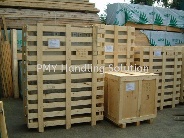 Machine Packing with Vacuum Pack Wooden Pallet Packaging Selangor, Kuala Lumpur, KL, Malaysia. Supplier, Suppliers, Supply, Supplies | PMY Handling Solution