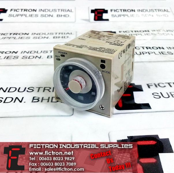 H3CR-A8E OMRON 60Hz 240VAC 1.2S to 300h H3CR Control Timer Supply Malaysia Singapore Thailand Indonesia Europe & USA OMRON Relay Selangor, Penang, Malaysia, Singapore Supply, Supplier, Suppliers, Repair | Fictron Industrial Supplies Sdn Bhd