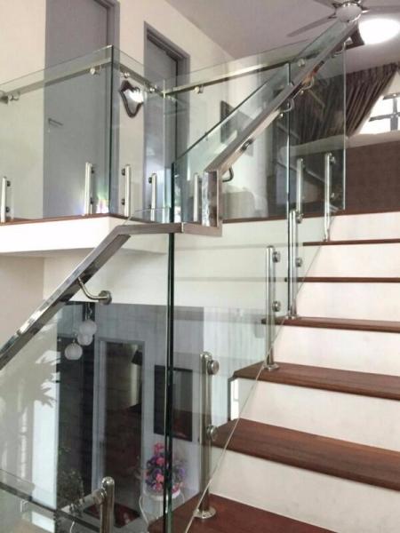 Glass Railing Malaysia, Selangor, Kuala Lumpur (KL), Batu Caves Supplier, Supply, Installation, Service | Hup Hing Aluminium Sdn Bhd