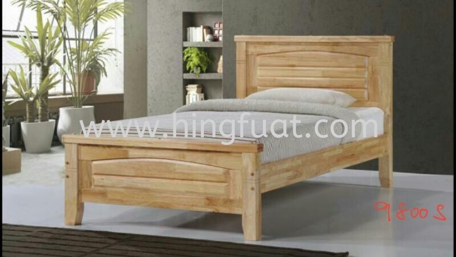 9800 Wooden Bed