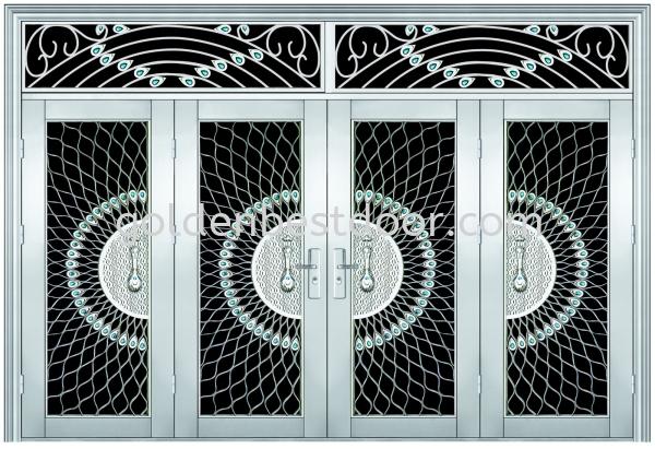 GBFD-9800 9ft x 9ft Safety Door Malaysia Ampang, Kuala Lumpur (KL), Selangor, Malaysia Supplier, Supplies, Service | Golden Best Security Door Trading