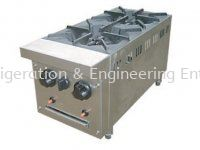 B58 2 OPEN BURNER STOVE TABLE TOP STAINLESS STEEL FABRICATION EQUIPMENT Johor Bahru (JB), Malaysia Supplier, Suppliers, Supply, Supplies | FL Refrigeration & Engineering Enterprise (M) Sdn Bhd