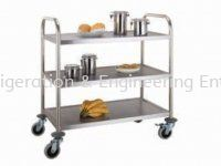 D71 3 TIER CLEANING TROLLEY