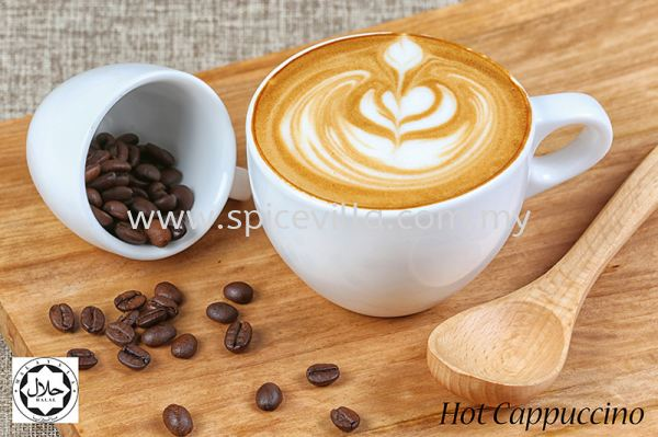 Hot Cappuccino Espresso (Hot Beverages) Beverages Johor Bahru (JB), Malaysia, Taman Abad Indian, Dishes, Restaurant, Catering | Villa Nine Spice Sdn Bhd