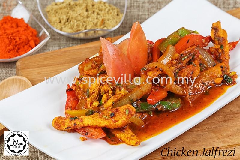Chicken Jalfrezi (Semi Gravy) Chicken Non Vegetarian  Johor Bahru (JB), Malaysia, Taman Abad Indian, Dishes, Restaurant, Catering | Villa Nine Spice Sdn Bhd