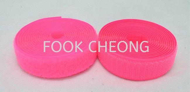 Hook & Loop Fastener Tape (043 Luminous Pink) B2B Selangor, Malaysia, Kuala Lumpur (KL), Shah Alam Supplier, Distributor, Supply, Supplies | Fook Cheong Trading Sdn Bhd