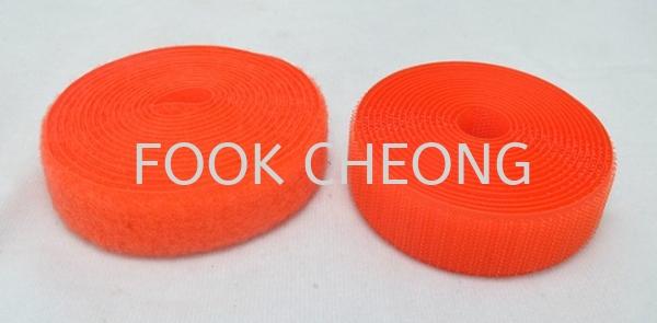 Hook & Loop Fastener Tape (153 Luminous Orange) B2B Selangor, Malaysia, Kuala Lumpur (KL), Shah Alam Supplier, Distributor, Supply, Supplies | Fook Cheong Trading Sdn Bhd