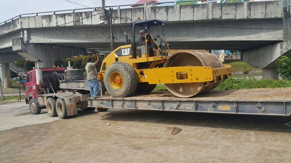 Caterpillar CS533E Roller Compactor Heavy Construction Products & Services Johor Bahru (JB), Malaysia, Ulu Tiram Supplier, Rental, Equipment, Machinery | Ecotrans Construction & Heavy Machinery Sdn Bhd
