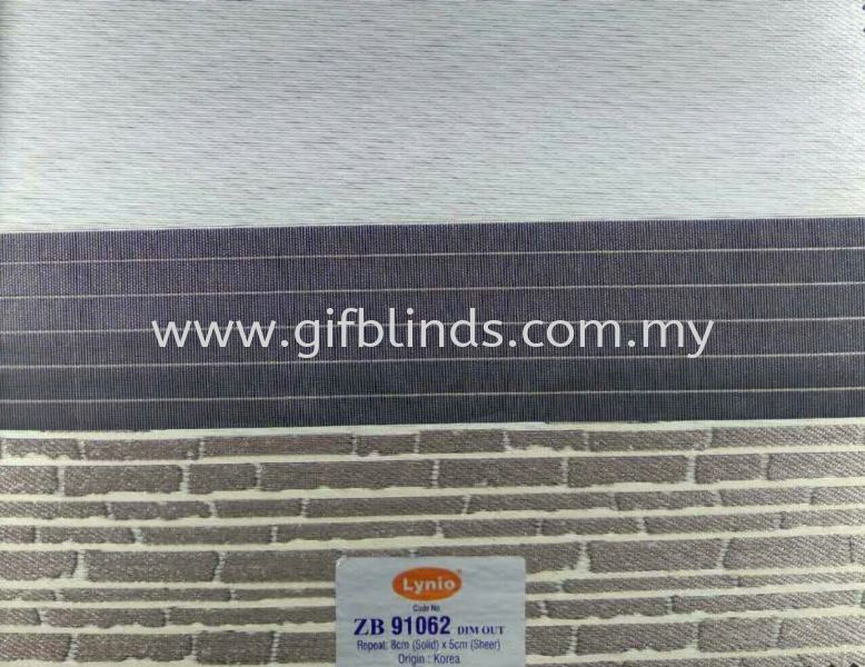 Zebra Blinds ZB91062 Zebra Blinds Sample ZB91061-66 Zebra Blinds Johor Bahru, JB, Johor, Malaysia. Supplier, Suppliers, Supplies, Supply | GIF Blinds (M) Sdn Bhd
