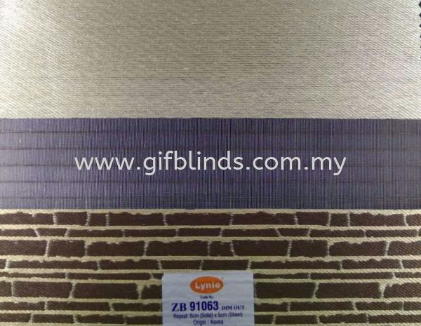 Zebra Blinds ZB91063 Zebra Blinds Sample ZB91061-66 Zebra Blinds Johor Bahru, JB, Johor, Malaysia. Supplier, Suppliers, Supplies, Supply | GIF Blinds (M) Sdn Bhd