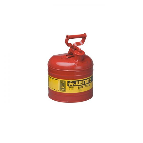 TYPE I STEEL SAFETY CAN FOR FLAMMABLES, 2 GALLON (7.5L), S/S FLAME ARRESTER, SELF-CLOSE LID Safety Cans & Containers Safety Containment System Kuala Lumpur (KL), Selangor, Malaysia Supplier, Suppliers, Supply, Supplies | Intensafe Sdn Bhd