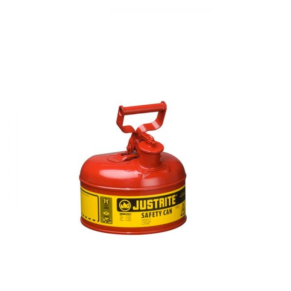 Type I Steel Safety Can for flammables, 1 gallon (4L), S/S flame arrester, self-close lid  Safety Cans & Containers Safety Containment System Kuala Lumpur (KL), Selangor, Malaysia Supplier, Suppliers, Supply, Supplies | Intensafe Sdn Bhd